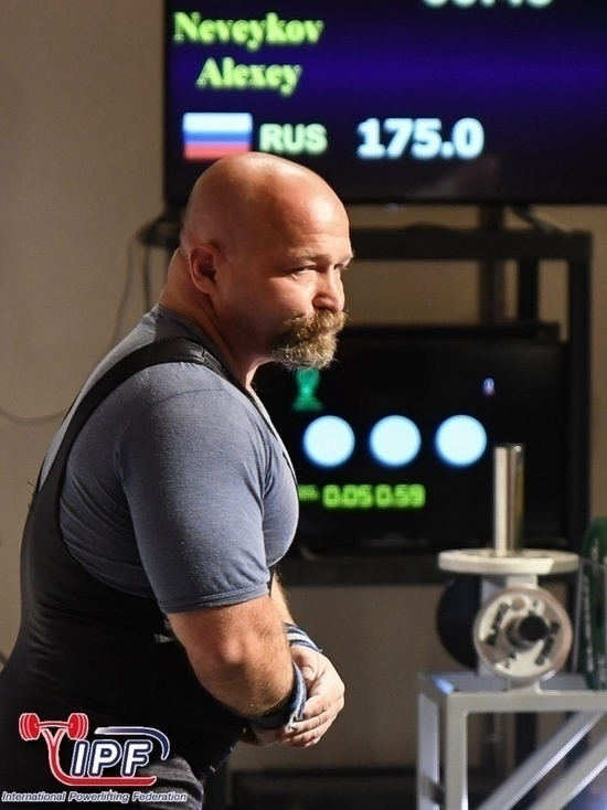 Ярославский предприниматель Алексей Невейков стал чемпионом России по пауэрлифтингу