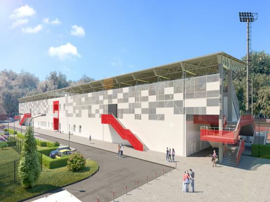 Стадион «Спартак» городского округа Серпухов ждут значительные перемены