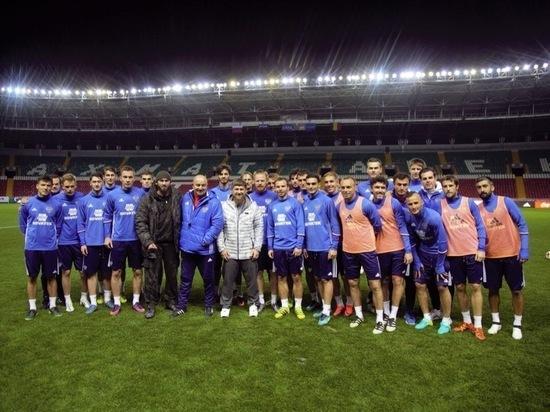 Кадыров поздравил сборную РФ по футболу с историческим результатом