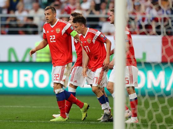 Сборная России побила сразу несколько рекордов в матче с Сан-Марино