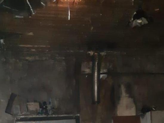 Частный жилой дом сгорел в ставропольском селе