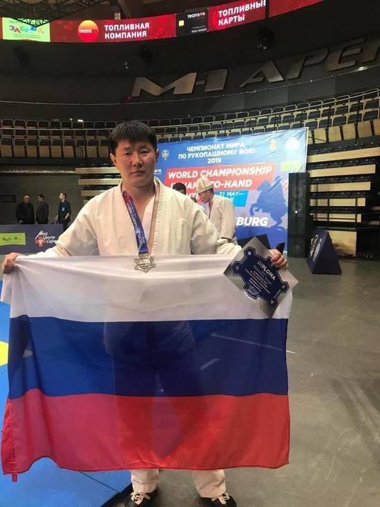 Калмыцкий атлет – серебряный призер чемпионата мира по рукопашному бою
