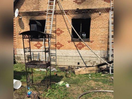 Подробности пожара в Подмосковье: возгорание произошло на кухне, погибли двое детей