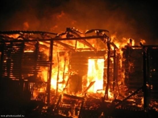 Пожар в Ингушетии обошелся без жертв