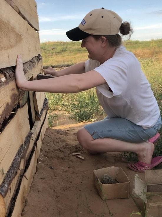 Калмыцким «Черным землям» помогают волонтеры