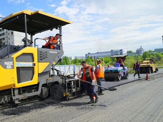 В Хабаровске сдают первые отремонтированные дороги