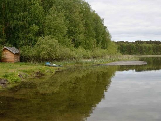 В Омской области гниет целебное озеро
