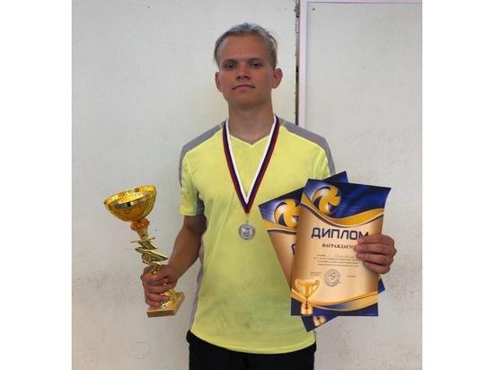 Серпухович стал лучшим игроком на соревнования по волейболу в Туле