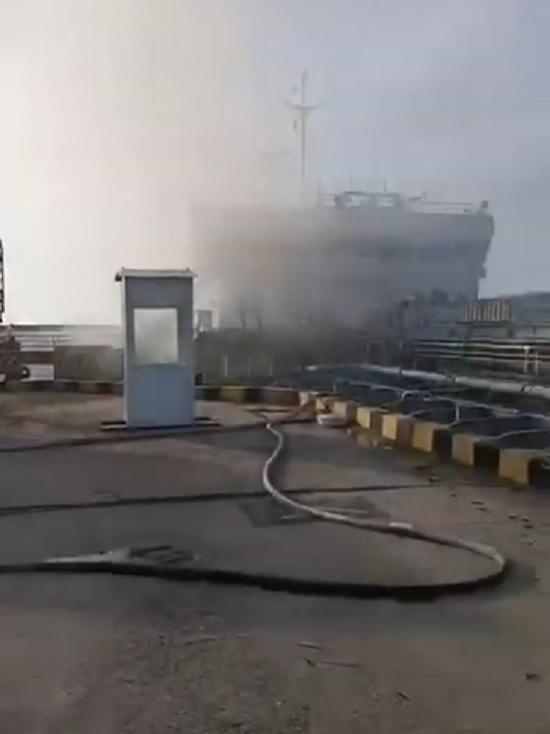 Расследованием взрыва на танкере в Махачкале занялся СК