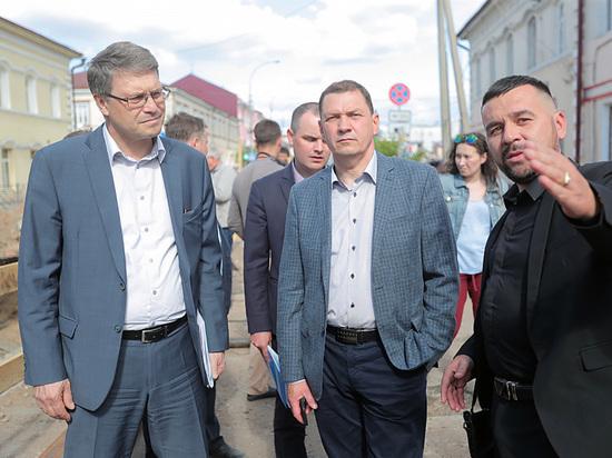 Как Игорь Шутенков ремонт изношенных теплотрасс в Улан-Удэ инспектировал