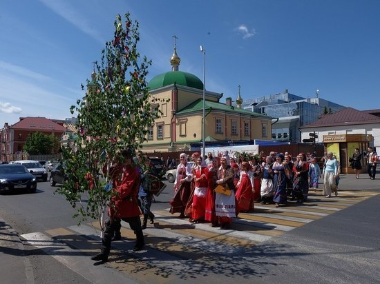 Казанцев приглашают на фестиваль «Духов день в Суконной слободе»