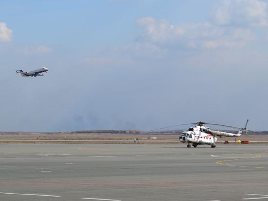 В Астрахани аварийно сел самолет из-за отказа двигателя