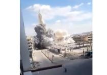 Сирийские самолеты «накрывают» бомбами террористов в Хаме и Идлибе