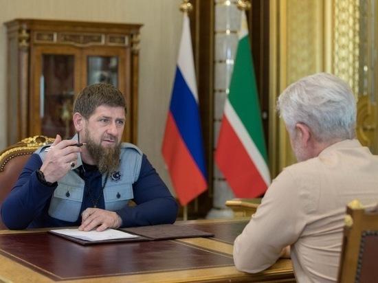 Восстановленный после войны пищекомбинат запустили в работу в Чечне