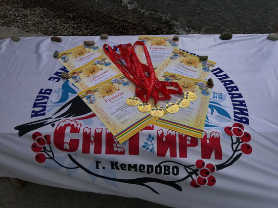 Кемеровские пловцы выиграли награды турнира