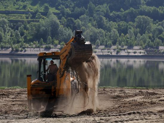 Пляж в Молитовском затоне откроют в июне