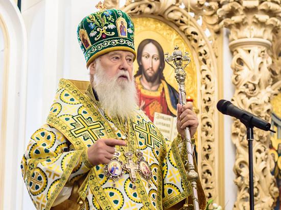 Филарет на Украине отвергает томос об автокефалии