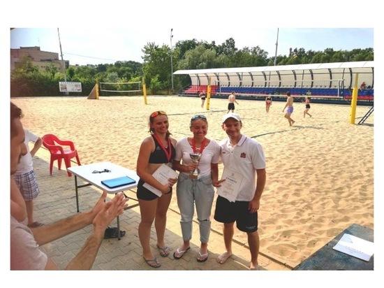 Серпуховички завоевали награды областного чемпионата по пляжному волейболу