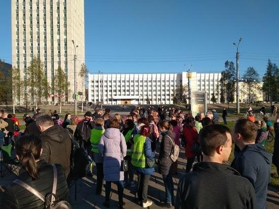 Активисты антимусорного протеста призывают встретить завтрашний праздник в жёлтом
