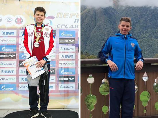15-летний школьник из Волгограда каждый день проплывает 15 км