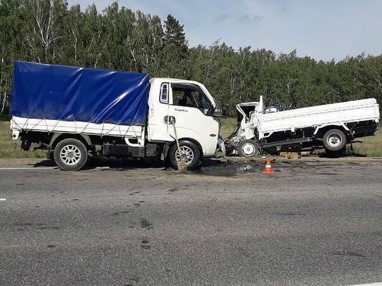 5-летний мальчик погиб при столкновении грузовиков в Усольском районе