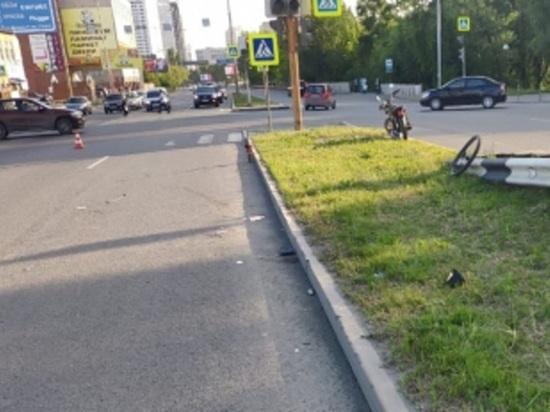 В Екатеринбурге водитель Lada Granta насмерть сбил велосипедиста