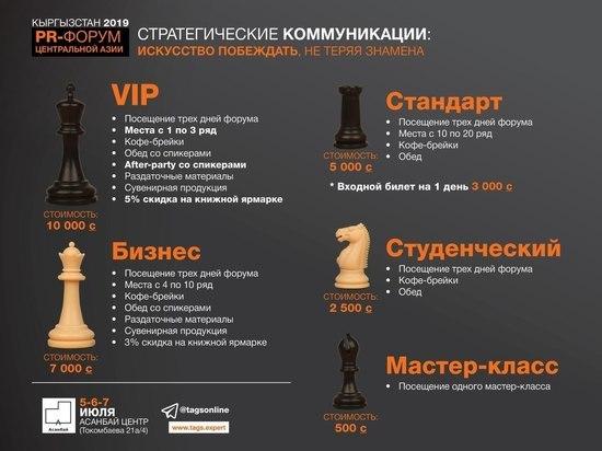 В Бишкеке состоится III PR-форум Центральной Азии