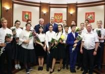 Ставропольские школьники получили паспорта из рук губернатора