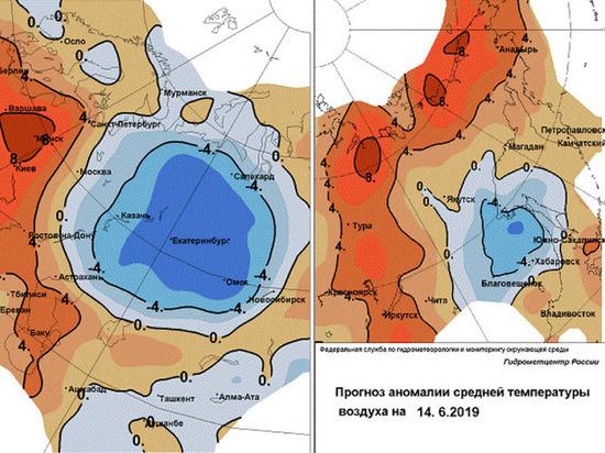 В Челябинской области жара скоро сменится прохладой