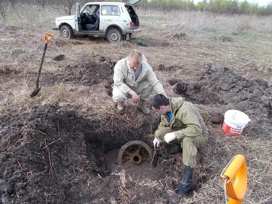 Тульские поисковики нашли погибший расчет и