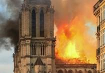 Первая после пожара служба в Нотр-Даме пройдет в субботу