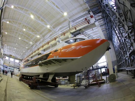 Россия возвращается к производству судов на подводных крыльях
