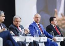 И. Додон: «Нужно повышать престиж Молдовы на международной арене»