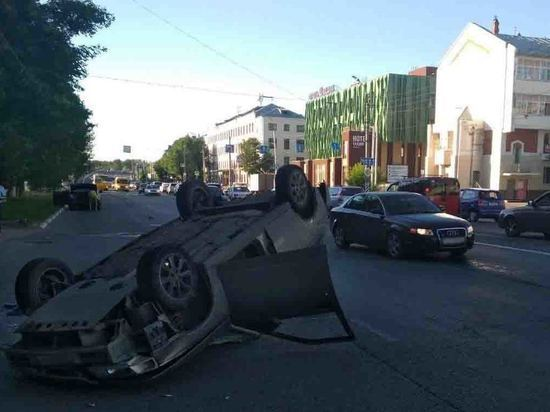 Девять аварий произошли на дорогах Ивановской области в минувшие выходные