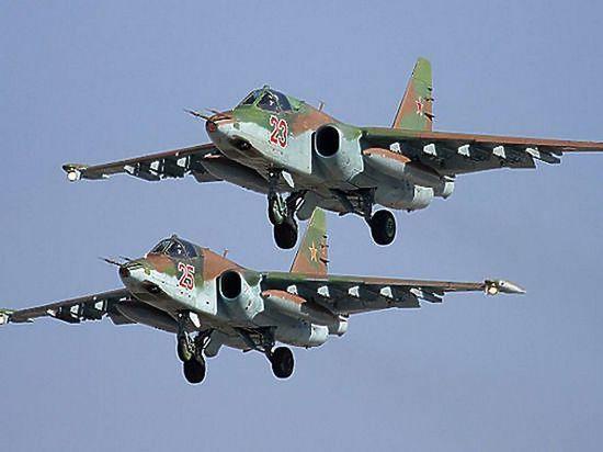 Россия разбомбила террористов, атаковавших турецких военных в Идлибе