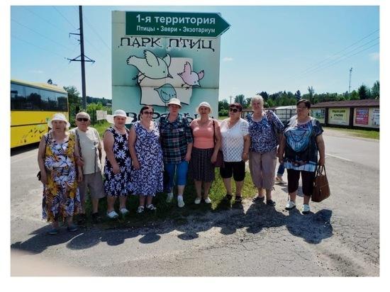 Жители Пролетарского побывали в парке птиц «Воробьи»