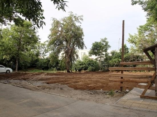 Вместо снесённого в Краснодаре аварийного дома разобьют сквер
