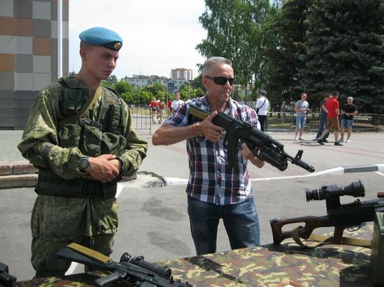 Впервые в Серпухове прошла полномасштабная акция Министерства обороны России