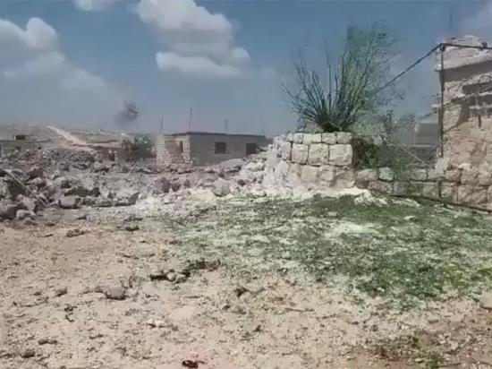 Боевики в Идлибе были атакованы по просьбе турецкой армии