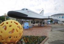На набережной в Архипо-Осиповке установили макет космического корабля