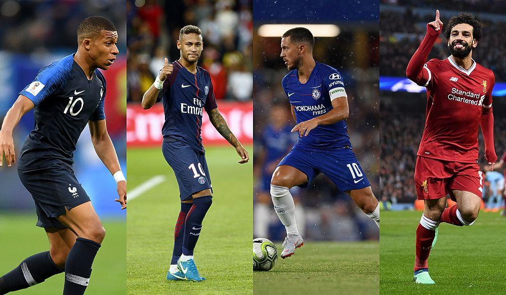 Без Роналду, но с Месси и Ван Дейком: топ-20 самых дорогих футболистов мира