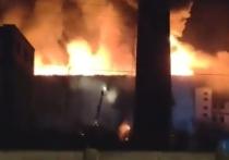 В Улан-Удэ пахнет пластиком из-за пожара в «Бурятмяспроме»