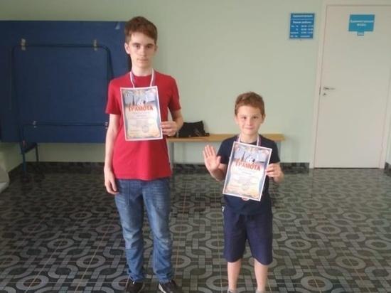 Юные серпуховичи стали лучшими на шахматном фестивале