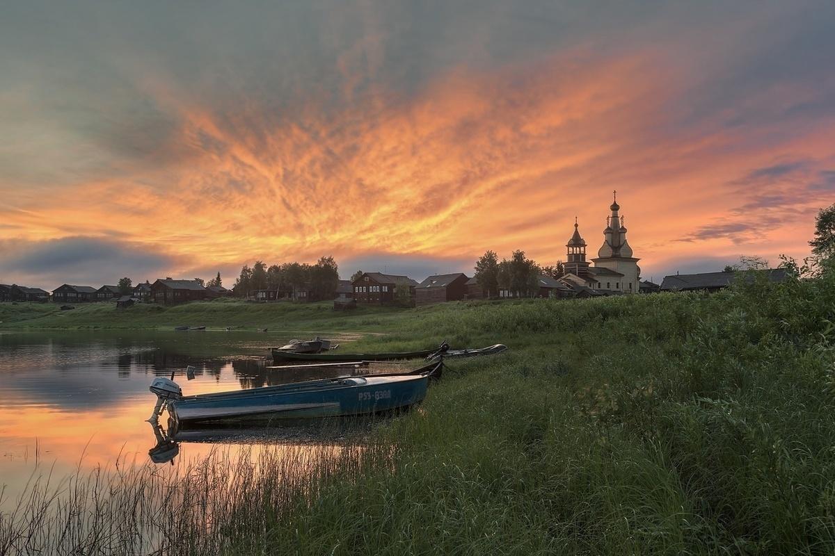 Архангельск в картинках лето