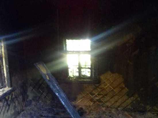 В Мордовии у владельца сгоревшего дома не выдержало сердце