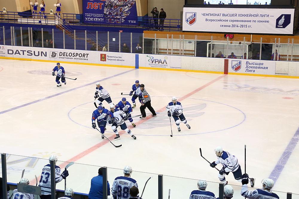 Тверь возвращается в большую игру: хоккей в эмоциях и лицах