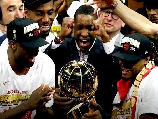 Впервые в истории чемпионом НБА стал клуб не из США