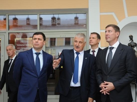 Дмитрий Миронов проинспектировал, как идет ремонт в Рыбинском драмтеатре