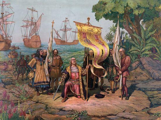 Обнаружено королевское письмо о возвращении Колумба из Америки