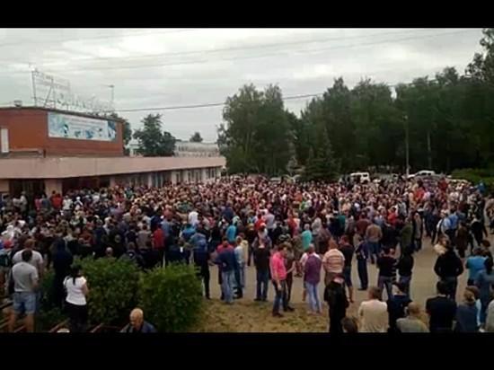 Восставшие против цыган жители Пензенской области перекрыли трассу M5